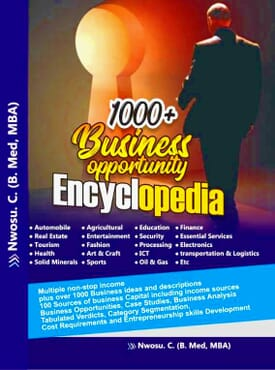 1000+ Business Opportunity Encyclopedia (e-book)