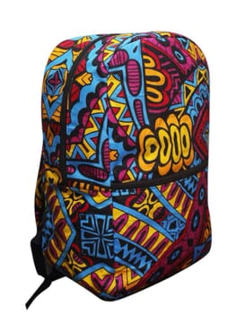 Ankara Backpack | African Print Bag