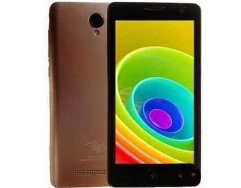 Itel A12 + Free Case - Gold