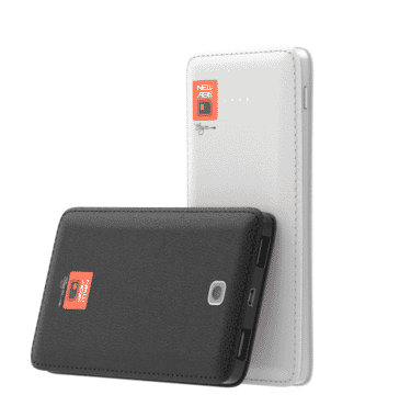 New Age J18 12500mAh Power Bank, Dual-Output Fast Charging
