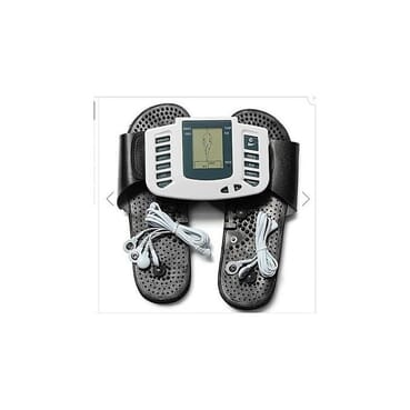 JR-309A Multi-functional Digital Electrical Tens Acupuncture Therapy Massager Slimming Body Stimulator Machine + Therapy Slipper