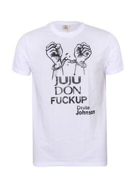 Dnite Johnson Unisex T-shirt Size M & L