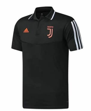 JUVENTUS PREMATCH POLO BLACK
