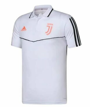 JUVENTUS PREMATCH POLO WHITE