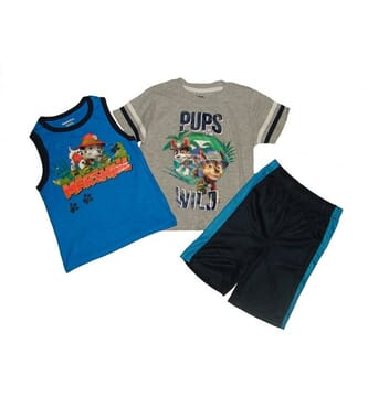 Nickelodeon 3 in 1 paw patrol boys set