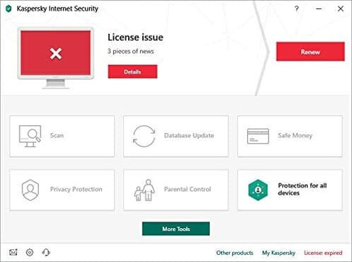 Kaspersky Internet Security 2020 | 3 Devices | 2 Years | Antivirus and Secure VPN Included | PC/Mac/Android | Online Code