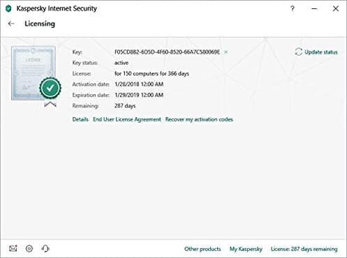 Kaspersky Internet Security 2020 | 10 Devices | 1 Year | Antivirus and Secure VPN Included | PC/Mac/Android | Online Code