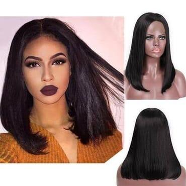 Kchoc_luxury hairs Bob Wig 14 Inches
