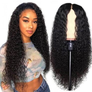 Kchoc_Luxury Hairs Curly 14 Inches Wig