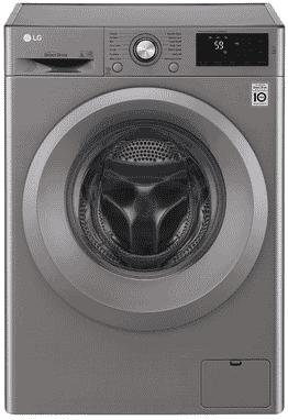 LG Washing Machine - 2j5nnp7s - 6kg - Silver