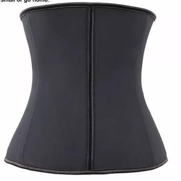 Burvogue Latex waist trainer; Shape Wear