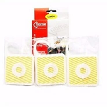 Lemon Scented Camphor Blocks For Wardrobe-3 Pieces