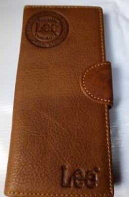 Levi Men's Designer Leather wallet