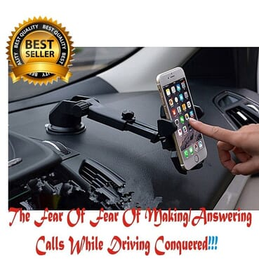 Life Saving Best Car Phone Holder With 360 Degree Rotation.