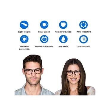 Life Saving Unisex Blue Light Blocking Glasses For Computer Use