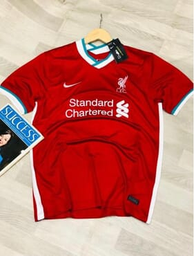Liverpool Champions NIKE Home Shirt