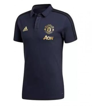 MANCHESTER UNITED PRE-MATCH POLO