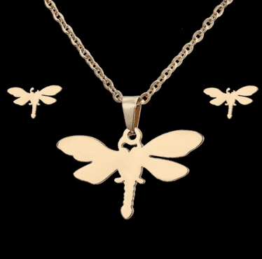 Butterfly designed jewery set for women