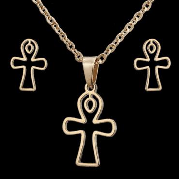 Cross designed Jewelry set for women