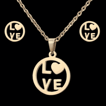 Love bound designed Jewelry set for women