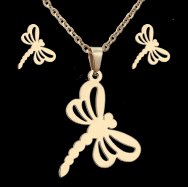 Dragonfly designed Jewelry set for women