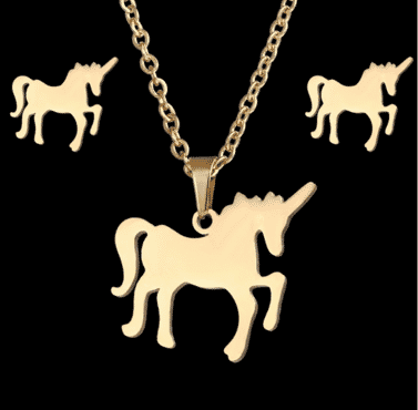 Horse designed Jewelry set for women