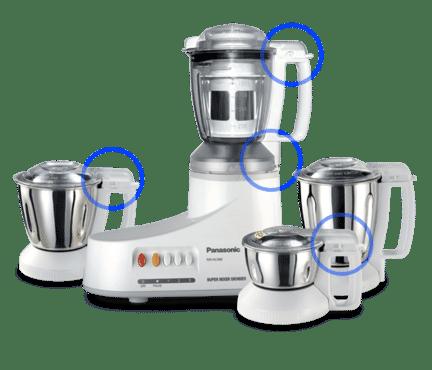 PANASONIC Mixer Grinder MX-AC400