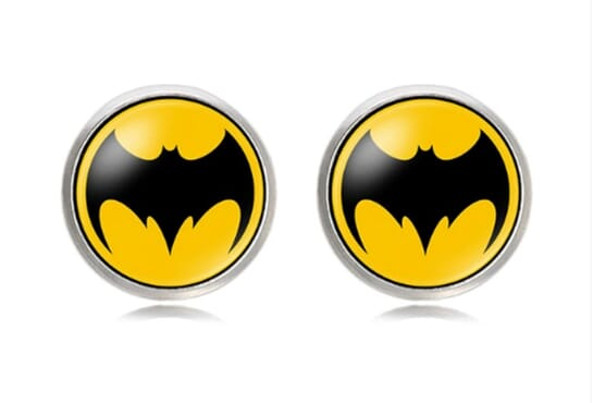 Various Superhero Character Cufflinks