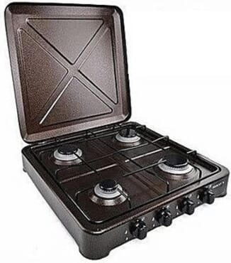 Maxi OC-400 4 Burners Gas Cooker Copper
