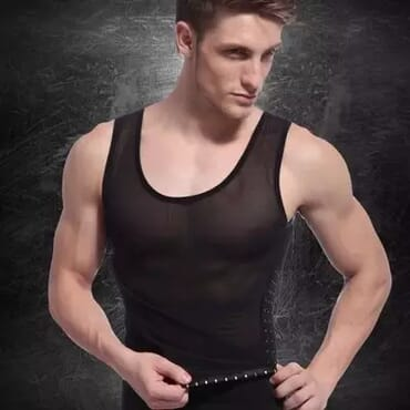 Men's Adjustable 2 Hook Slimming Tummy Shapewear