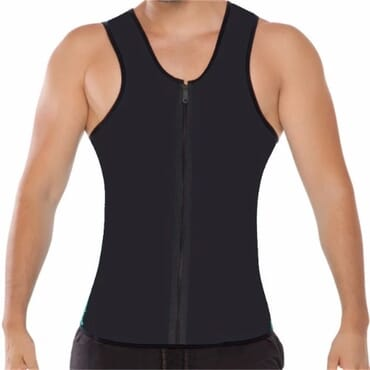 Men's Neoprene Slimming Vest For Weight Loss Workout