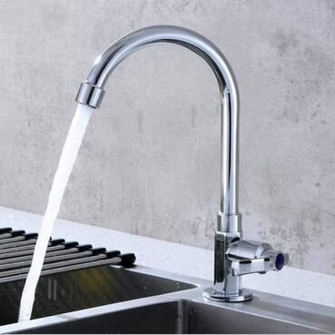 Modern Stainless Kitchen Sink Water Faucet