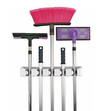 Mounted Mop Broom Holder