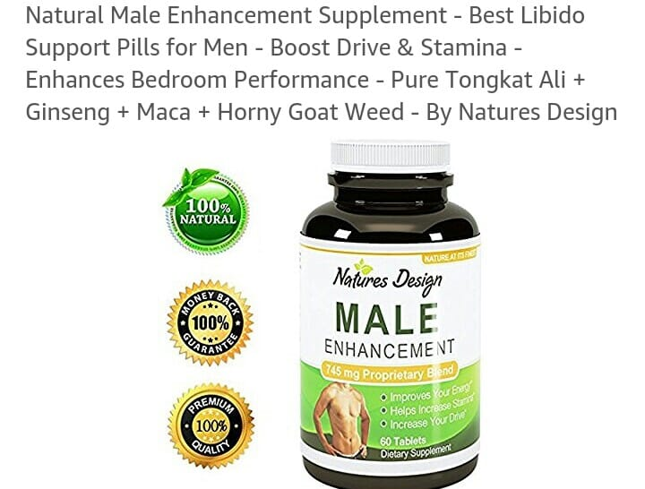 Best All Natural Male Enhancement Product