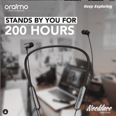 Oraimo Necklace earphones