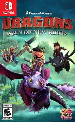 N/S DRAGONS DAWN OF NEW RIDERS