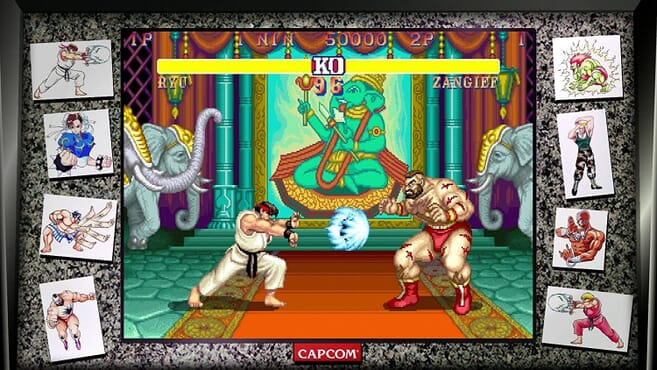 N/S STREET FIGHTER 30TH EDITION