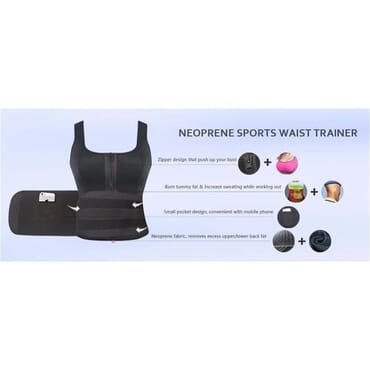 Neoprene Sauna Sweat Vest For Workout