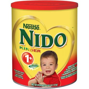 Nestle Nido Kinder 1+ Whole Milk Powder 3.52 Lb. Canister - Powdered Milk Mix