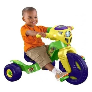 Nickelodeon Teenage Mutant Ninja Turtles Lights & Sounds Trike