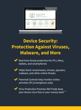 Norton 360 Standard 2020, Antivirus software for 1 Device and 1-year subscription with automatic renewal, Includes Secure VPN and Password Manager, PC/Mac/iOS/Android, Activation Code by email