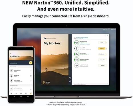 Norton 360 Premium 2020, Antivirus software for 10 Devices and 1-year subscription with automatic renewal, Includes Secure VPN and Password Manager, PC/Mac/iOS/Android, Activation Code by email