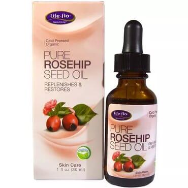 Life-flo Organic Pure Rosehip Seed Oil - 1Fl oz - 30ml