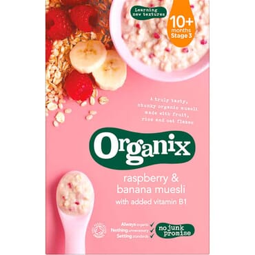 Organix Raspberry & Banana Muesli