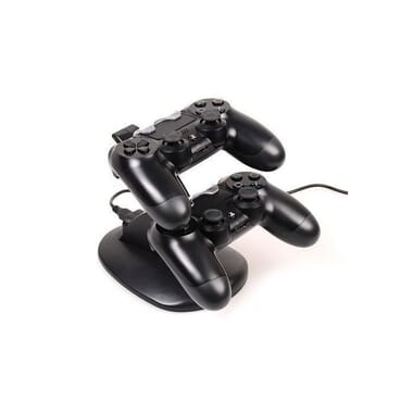 Otvo PS4 Controller Pad Charger [Dual Slot] High Speed Docking/Charging Station