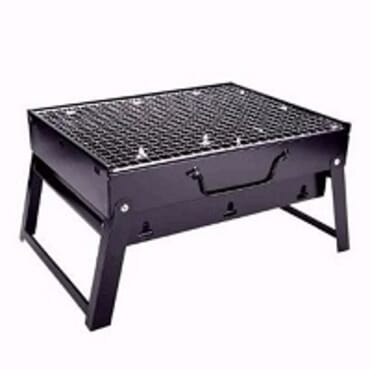 Outdoor Portable Charcoal Barbecue Grill