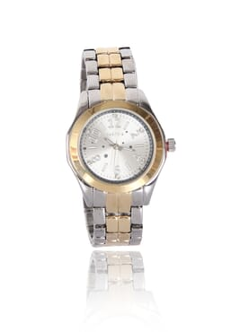 Parfois Ladies Gold And Silver Wrist Watch