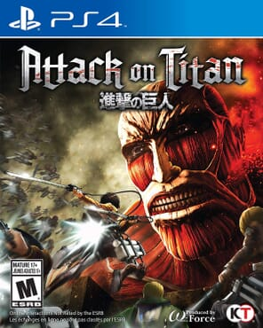 PS4 ATTACK ON TITANS