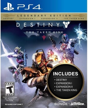 PS4 DESTINY- THE TAKEN KING