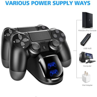 PS4 DUAL CHARGER AND STAND SONY OFFICIAL